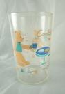 【震撼精品百貨】Cookie Club 泰迪熊~透明塑膠杯『端杯』