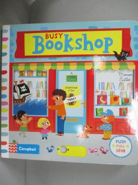 【書寶二手書T1/少年童書_LPW】Busy Bookshop_Marion BILLET