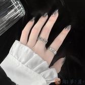 戒指女時尚創意個性冷淡風潮復古嘻哈可調節男酷食指環【淘夢屋】