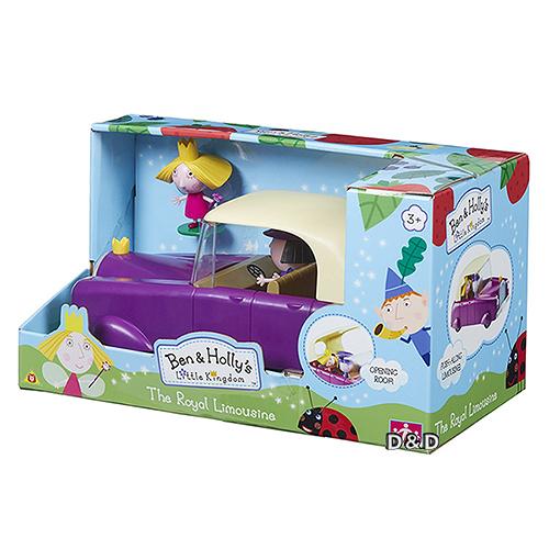 《 Ben&Holly 花園小精靈 》莉莉的國王轎車╭★ JOYBUS玩具百貨