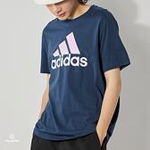 Adidas M SP1 T 男 藍 運動 休閒 短袖 GK9619