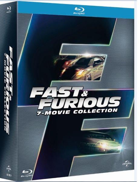 玩命關頭1-7 合輯 BD Fast & Furious 1-7 collection