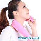 里和Riho 領巾 冰涼巾 路跑巾 蜜桃粉 瞬間涼感多用途 SGS檢測不含塑化劑 台灣製造 冰領巾
