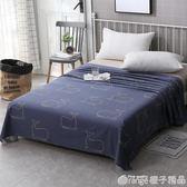 南極人全棉床單單件學生宿舍1.2m單人床1.5/1.8/2米雙人純棉被單 橙子精品