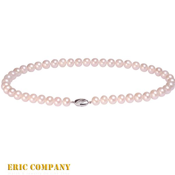 【EM eileen me】日本寶石鑑定DPS專業認證 8~8.5mm~天然珍珠項鍊