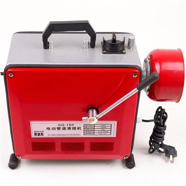 馬桶疏通器 下水管道疏通器專業工具疏通機電動馬桶堵塞 交換禮物