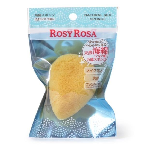 ROSY ROSA 天然洗顏兩用海綿(M) 1入/袋