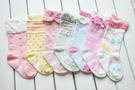 [韓風童品] (7雙/組)秋冬新款防滑點膠襪 兒童防滑襪 兒童襪子襪子 女童襪  長筒襪子