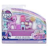《 My Little Pony 彩虹小馬 》彩虹小馬 3吋隨身皮包遊戲組 -紫悅╭★ JOYBUS玩具百貨