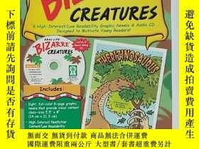 二手書博民逛書店REAL-LIFE罕見BIZARRE CREATURES 有 附3張光盤Y254853 John P.(約翰·