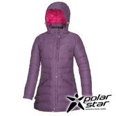 PolarStar 女 長版羽絨外套 『暗紫』P15212