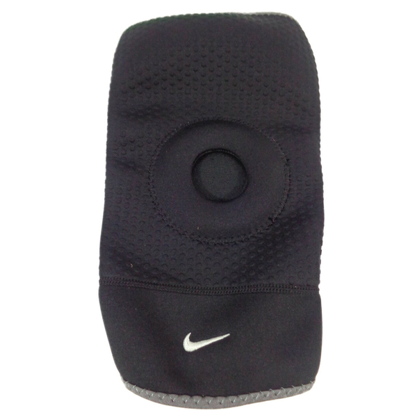 NIKE 護膝套 PRO OPEN-PATELLA 開洞 膝蓋護套 護具 黑 (布魯克林) NMS55010