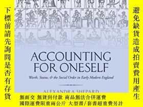 二手書博民逛書店Accounting罕見For Oneself: Worth,