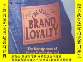 二手書博民逛書店Creating罕見Brand Loyalty(詳見圖)Y658