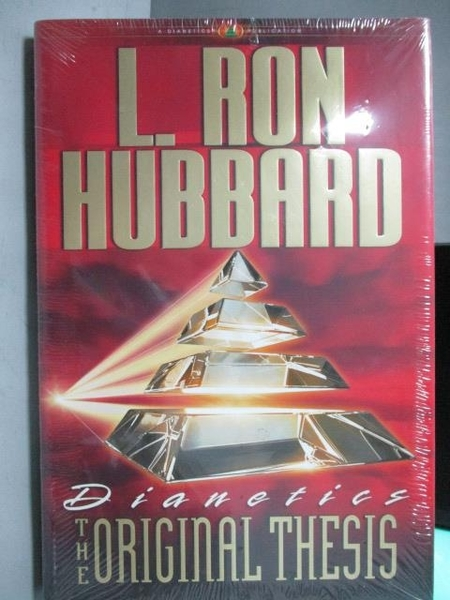 【書寶二手書T5/科學_ZKR】The Original Thesis_L.Ron Hubbard_未拆