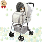 【PET PARADISE 寵物精品】Pretty Boutique 新款3WAY可分離式寵物推車(~10kg用) 寵物推車