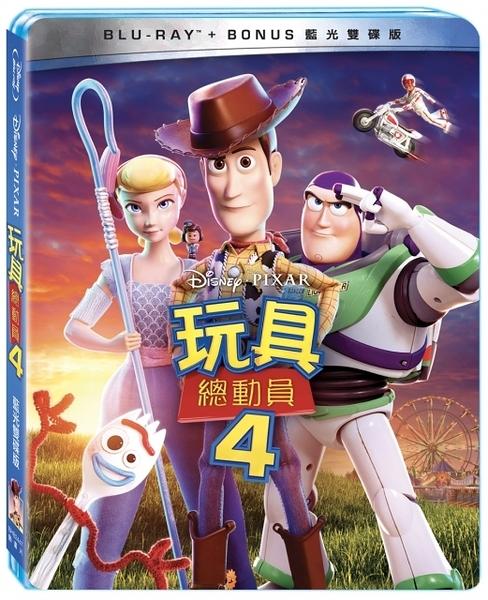【停看聽音響唱片】【BD】玩具總動員4 BD+Bonus 雙碟版