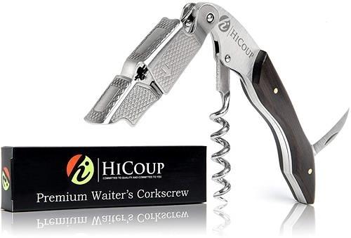 HiCoup的Waiters Corkscrew 一體式開瓶器 鋁箔切割機