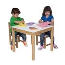 【美國ALEX】715H  小白兔優木方桌 書桌 /張