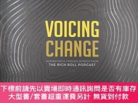 二手書博民逛書店voicing罕見change inspiration & timeless wisdom from the ri