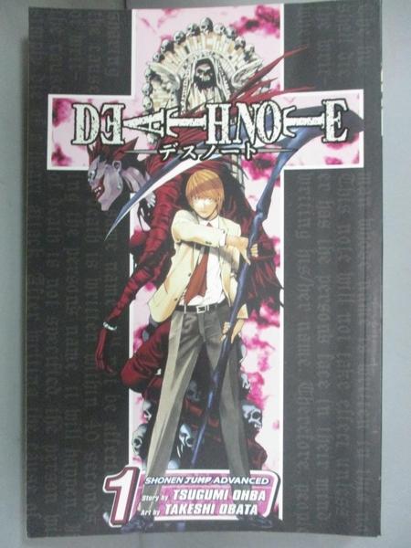 【書寶二手書T9/原文小說_CTC】Death Note 1: Boredome_Ohba, Tsugumi/ Obat