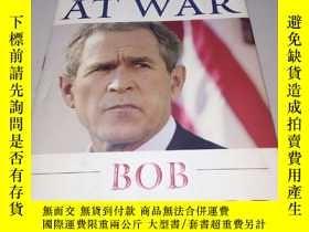 二手書博民逛書店BUSH罕見AT WAR BOB WOODWARD(英文精裝原版