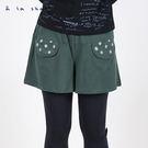 a la sha Qummi 富士山Q咪點點口袋短褲裙