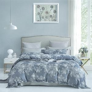 【FITNESS】100%頂級60S天絲加大四件式床包兩用被組夢境森林6*6.2