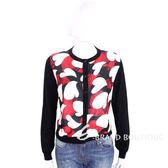BOUTIQUE MOSCHINO 黑色蛇紋心型印花拼接外套 1710675-01