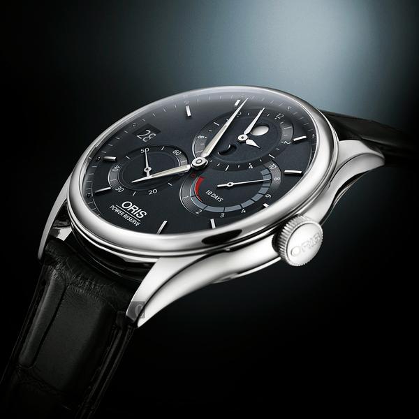 ORIS 豪利時 Artelier Calibre 112 十日動力儲存手動上鏈機械手錶-42mm 0111277264055-set