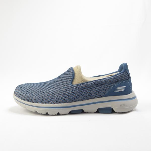 Skechers GO WALK 5 - MIRACLE 健走鞋 15906BLU 女款 瑜珈鞋墊【iSport愛運動】
