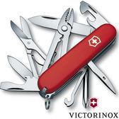 Victorinox瑞士維氏 1.4723 DELUXE TINKER,RED  十七功能瑞士刀工具組