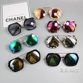 新品正韓兒童太陽鏡男童個性時尚眼鏡墨鏡寶寶女公主可愛眼鏡(免運)
