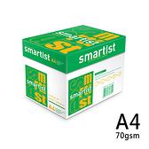 SMARTIST A4 70gsm 雷射噴墨白色影印紙500張入 X 10包