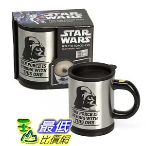 [104美國直購] Star Wars Darth Vader Self Stirring & Spinning Mug 星際大戰 黑武士 Feel The Force 咖啡杯