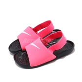 Nike 涼拖鞋 Kawa Slide TD 粉紅 白 童鞋 小童鞋 涼鞋【PUMP306】 BV1094-610