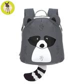 【新品上市送收納盒】德國Lassig-兒童動物造型後背包-浣熊