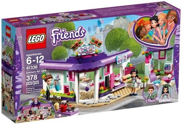 【LEGO樂高】FRIENDS 艾瑪的藝術咖啡廳 41336