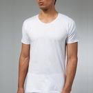 三槍牌 3件組白色時尚型男純棉短袖圓領汗布衫2XL~3XL HE916