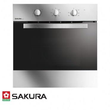 櫻花 SAKURA 嵌入式電烤箱 65L E6672