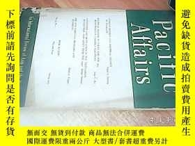 二手書博民逛書店PACIFIC罕見AFFAIRS vol.47, NO.1Y23