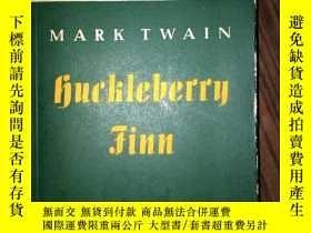 二手書博民逛書店C8罕見HUCKLEBERRY FINN 館藏Y16651 MA