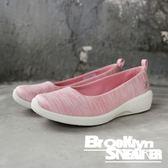SKECHERS ARYA DIFFERENT EDGE 粉 條紋 白底 記憶鞋墊 休閒鞋 女 (布魯克林) 23752PNK