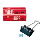 【奇奇文具】LIFE 108(222)51mm長尾夾12入 (單盒)