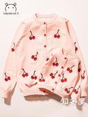 親子裝 親子裝2019新款潮洋氣母女裝寶寶春季韓版ins針織開衫棉長袖外套 3色