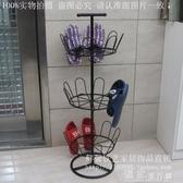 晾曬架晾鞋架室外陽台家用簡易拖鞋掛架落地式曬鞋器創意組裝鐵藝晾曬架 快速出貨YJT