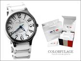 精密陶瓷獨特的切割面強化鏡片 范倫鐵諾Valentino手錶 公司貨 柒彩年代 【NE611】單支