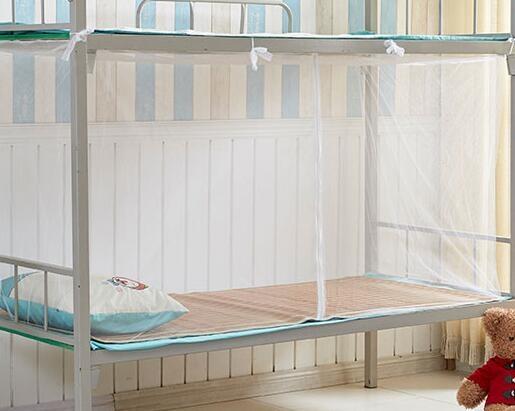 蚊帳 學生蚊帳宿舍拉鏈款1.0m上鋪下鋪上下床單人1.2高低床1.5m1.8/2米【快速出貨八折鉅惠】