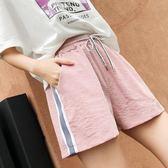 短褲 運動短褲女夏新款韓版寬鬆學生百搭原宿bf休閒熱褲 艾維朵