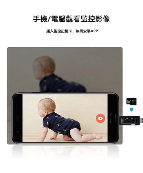 Type C Micro USB 三合一 ( TF / SD卡) 多功能OTG讀卡機